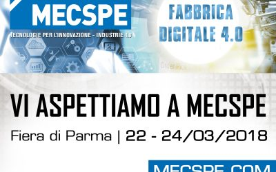 Mecspe 2018 – Parma (Italy)